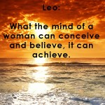 Leo woman personality traits