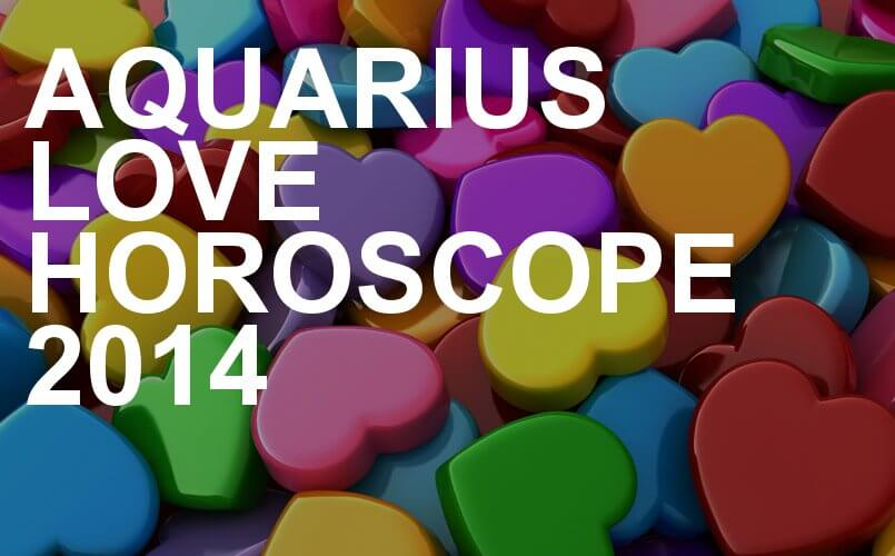 aquarius love horoscope 2014