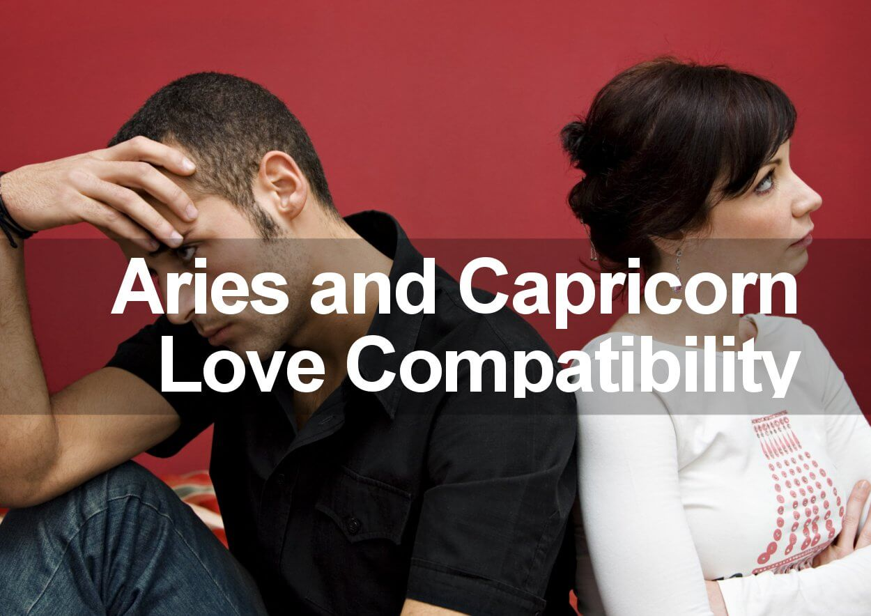 aries and capricorn love compatibility