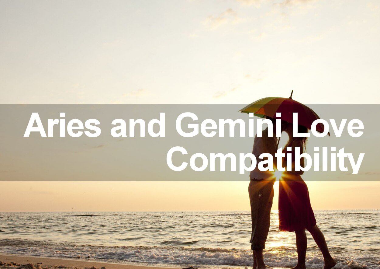 Compatibility Between Aries Woman And Gemini Man