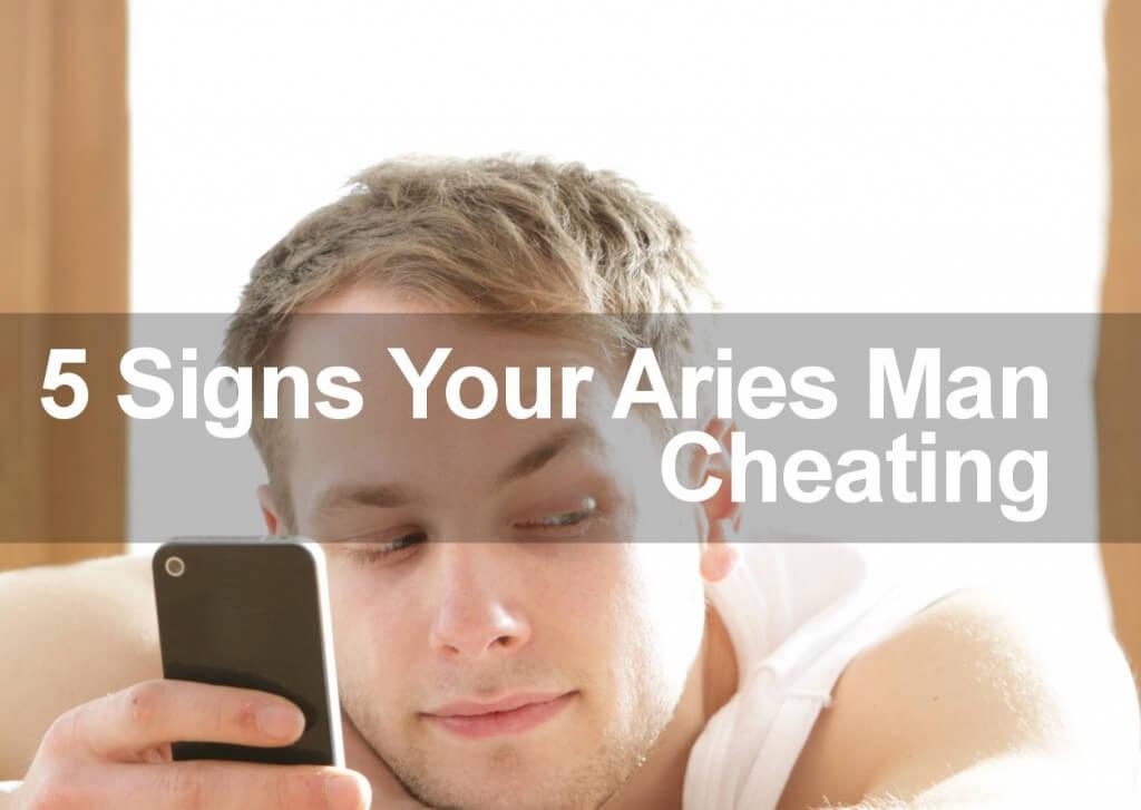 aries man cheating