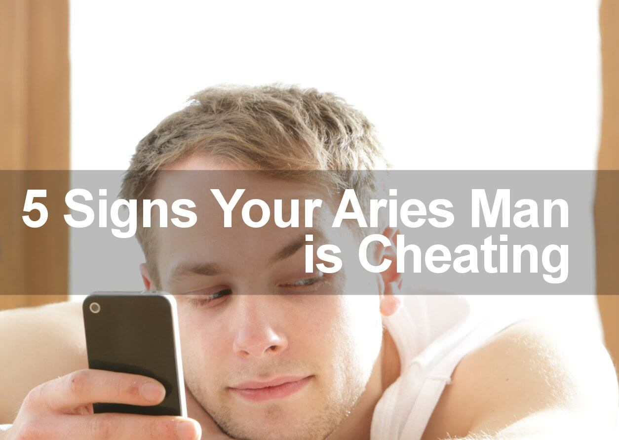 aries man cheating