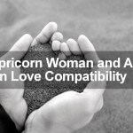 Capricorn Woman and Aries Man Love Compatibility