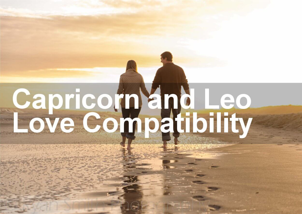 Leo Woman And Capricorn Man Marriage Compatibility