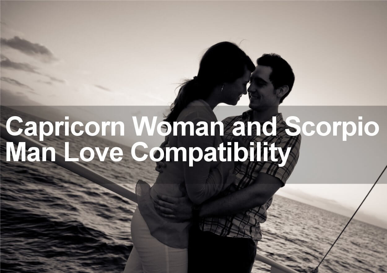 Are capricorn woman and scorpio man compatible