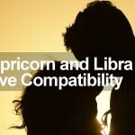 Capricorn and Libra Love Compatibility