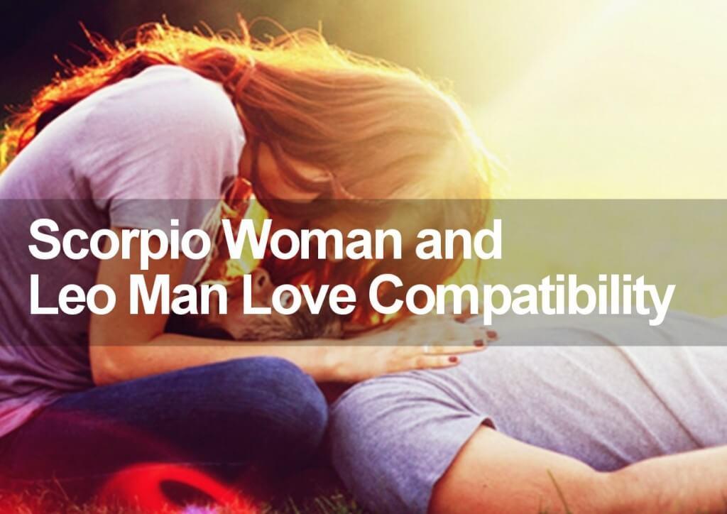 Scorpio and Leo love compatibility