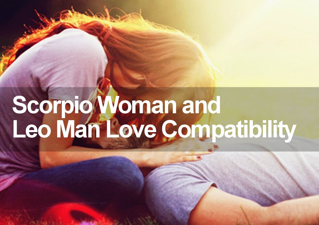 Scorpio and Leo love compatibility