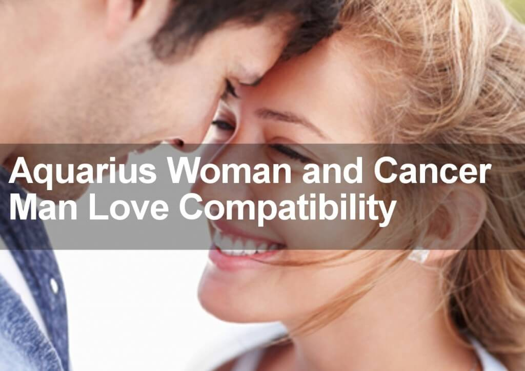 Aquarius Woman  Cancer Man Sexual, Love  Marriage Compatibility-2773