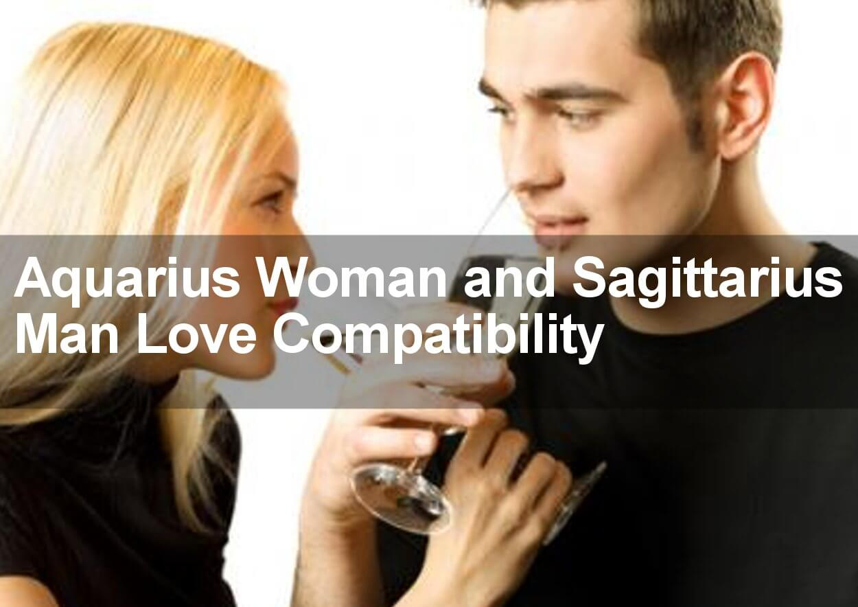 Sagittarius man in love with aquarius woman