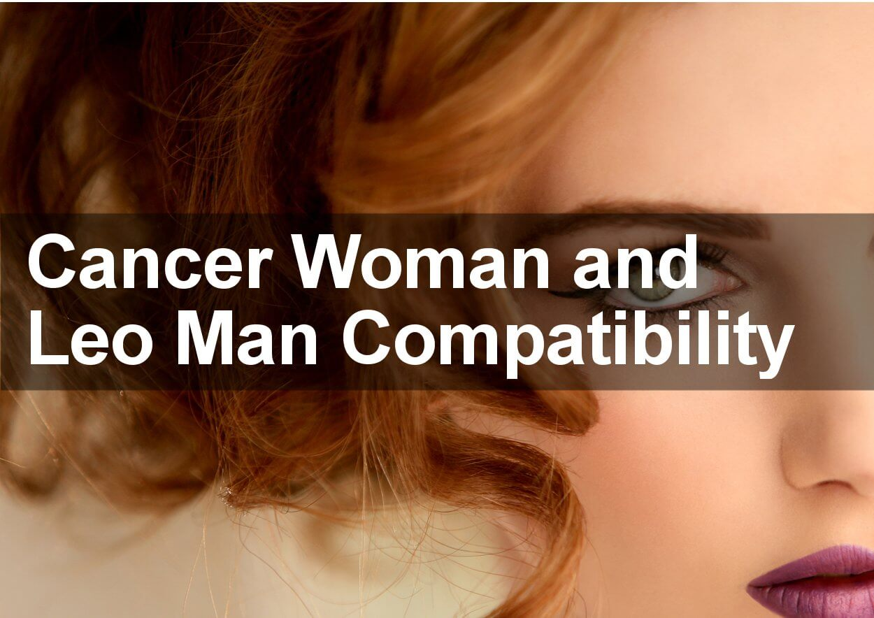 Cancer Woman and Leo Man Love Compatibility