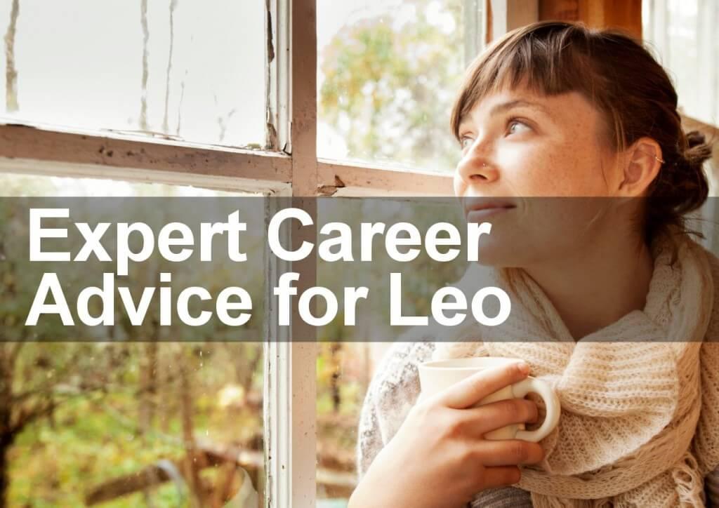 Expert Career Advice for Leo