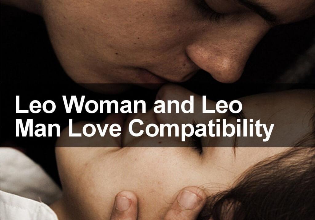 Leo Woman and Leo Man Love Compatibility