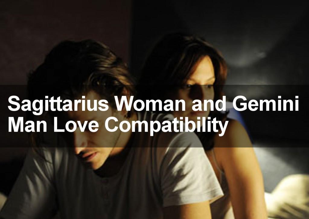 Gemini woman dating a sagittarius man