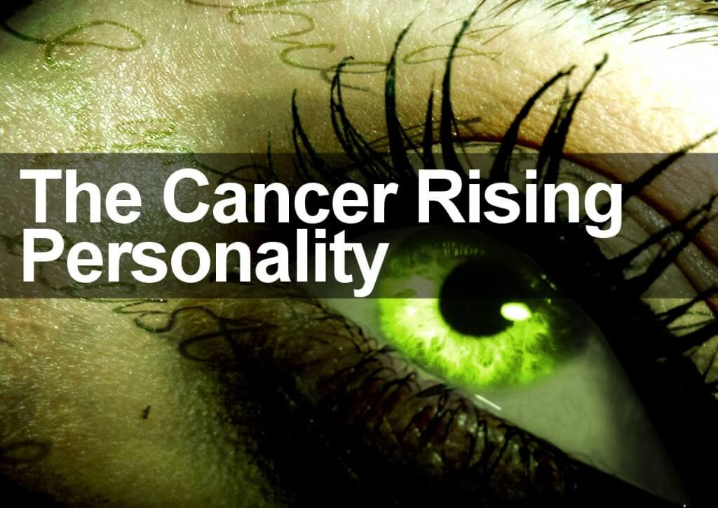 The Cancer Rising Personality