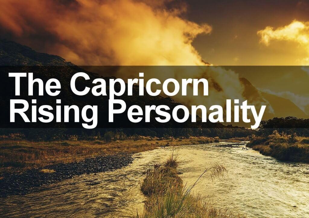 The Capricorn Rising Personality