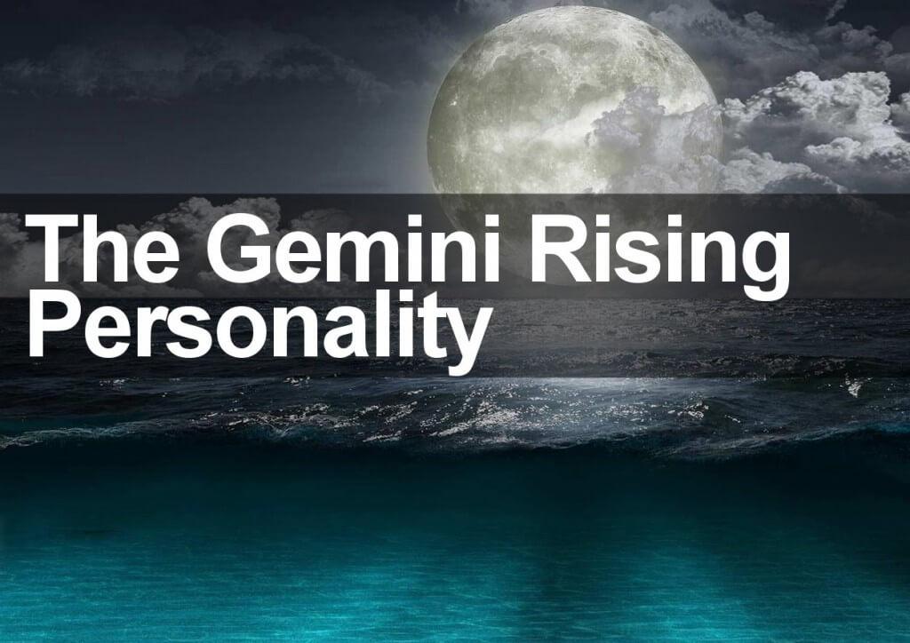 The Gemini Rising Personality
