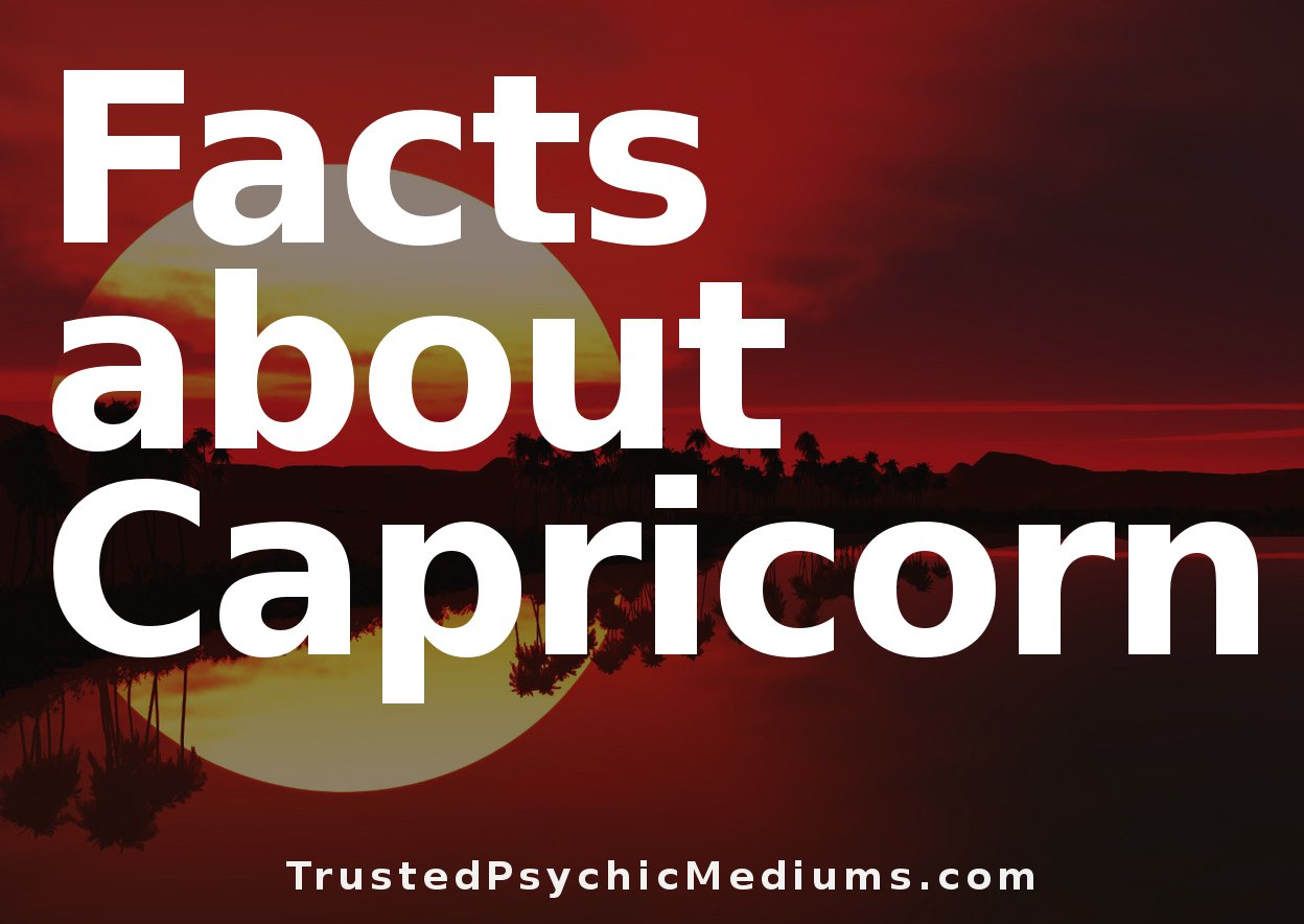Capricorn Symbol And Signs Everything You Should Know Now