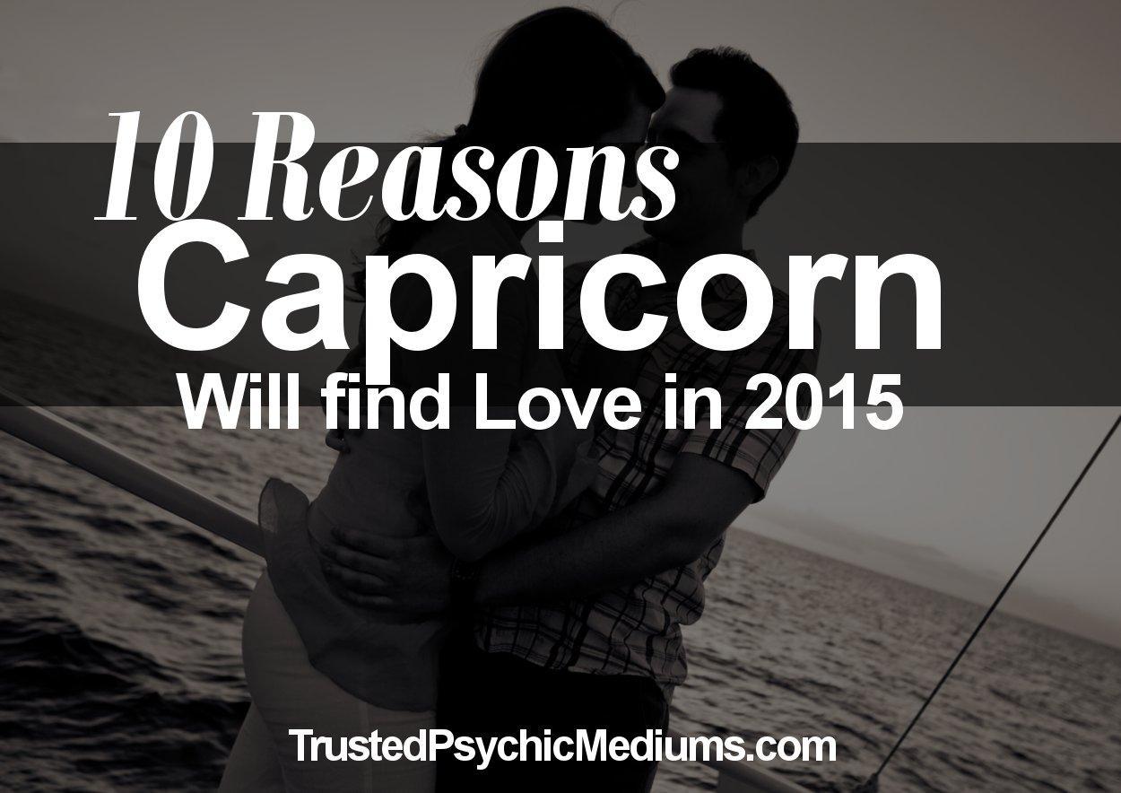 will capricorn find love