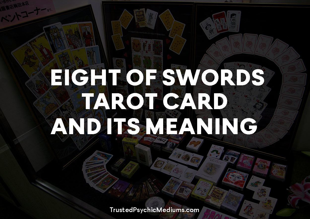 Eight of Swords Tarot Card and its Meaning