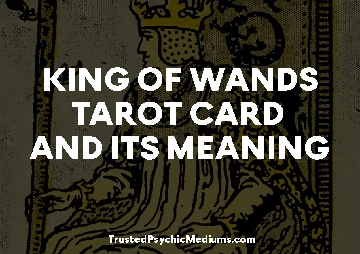 King of Wands Tarot Card and its Meaning