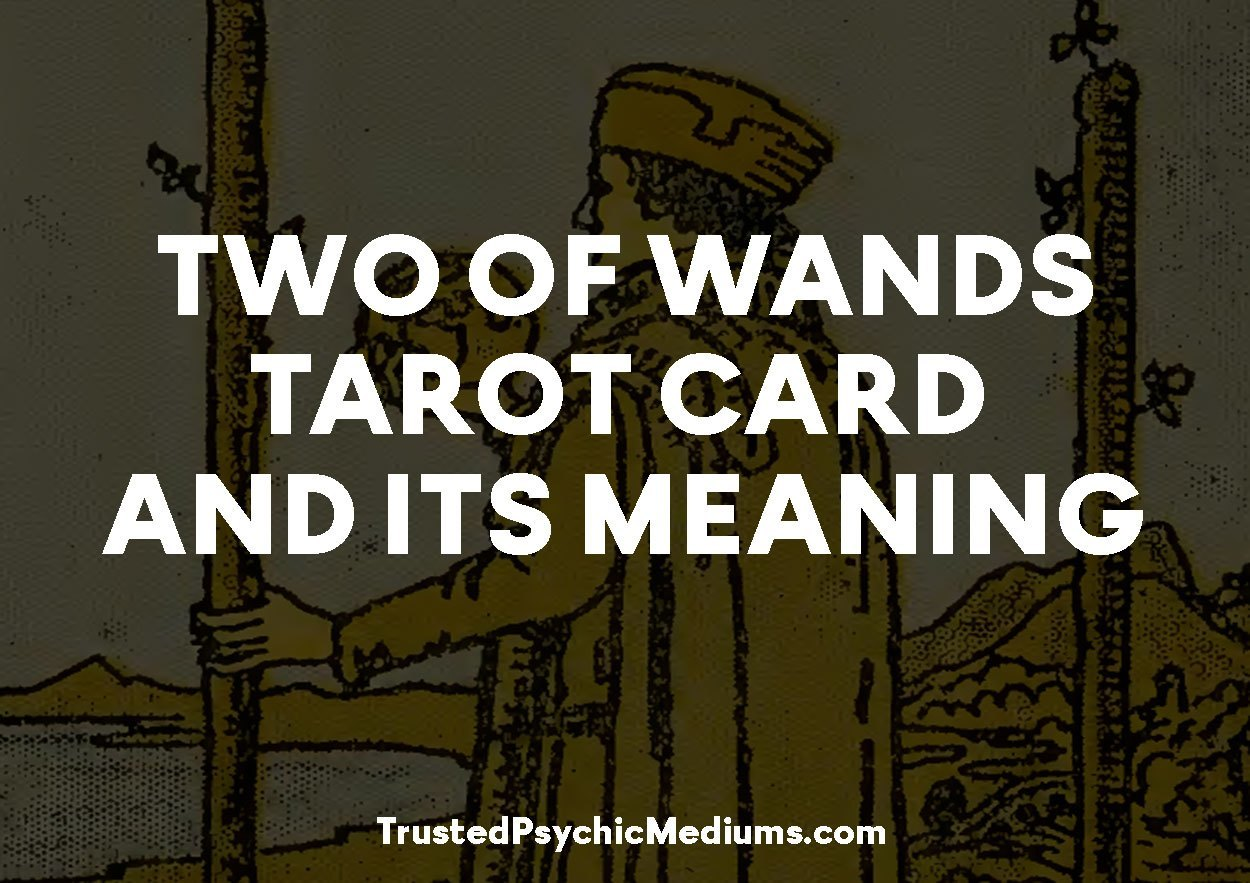 Two of Wands Tarot Card and its Meaning