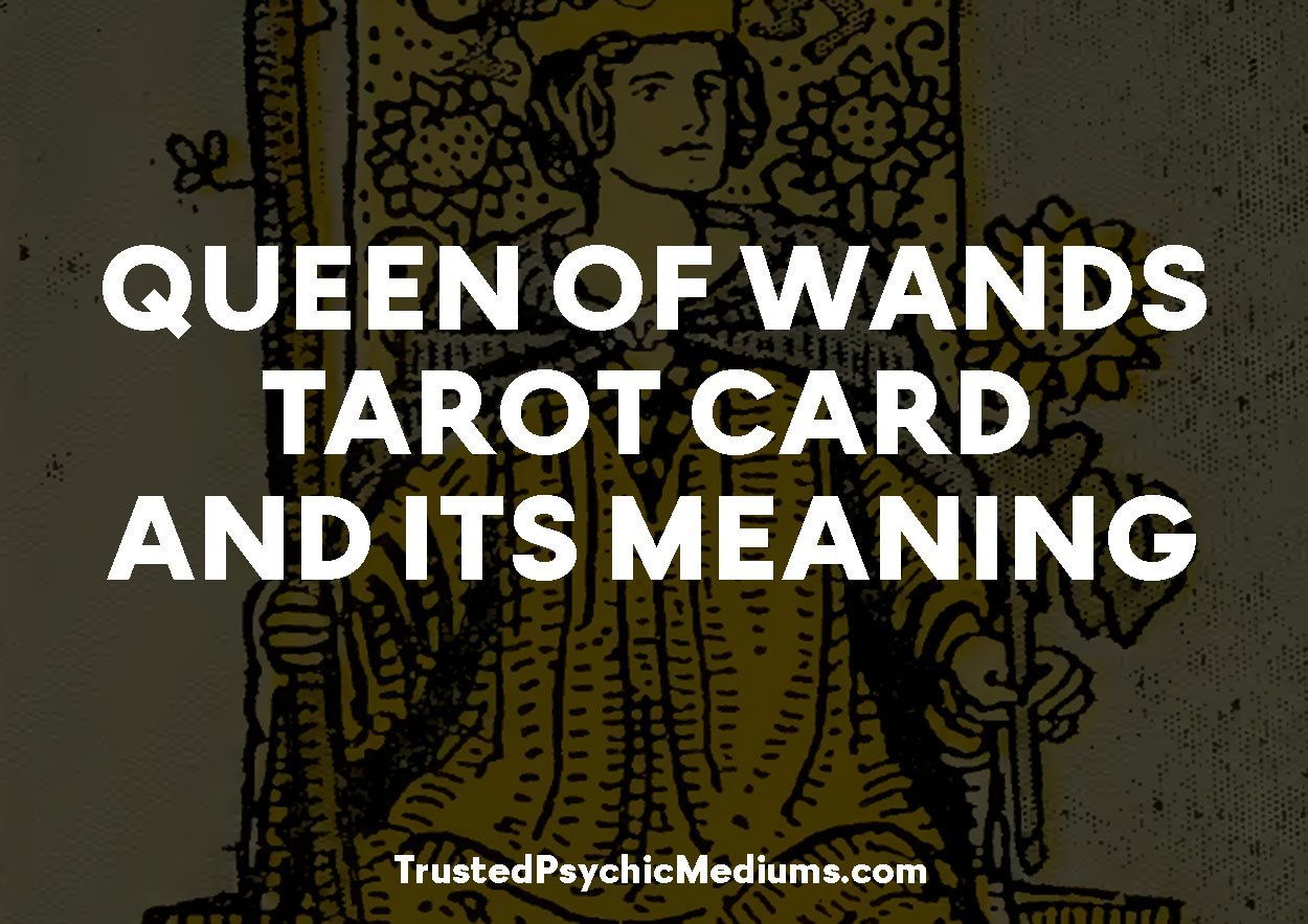 Queen of Wands Tarot Card and its Meaning