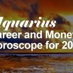 Aquarius Career and Money Horoscope 2015