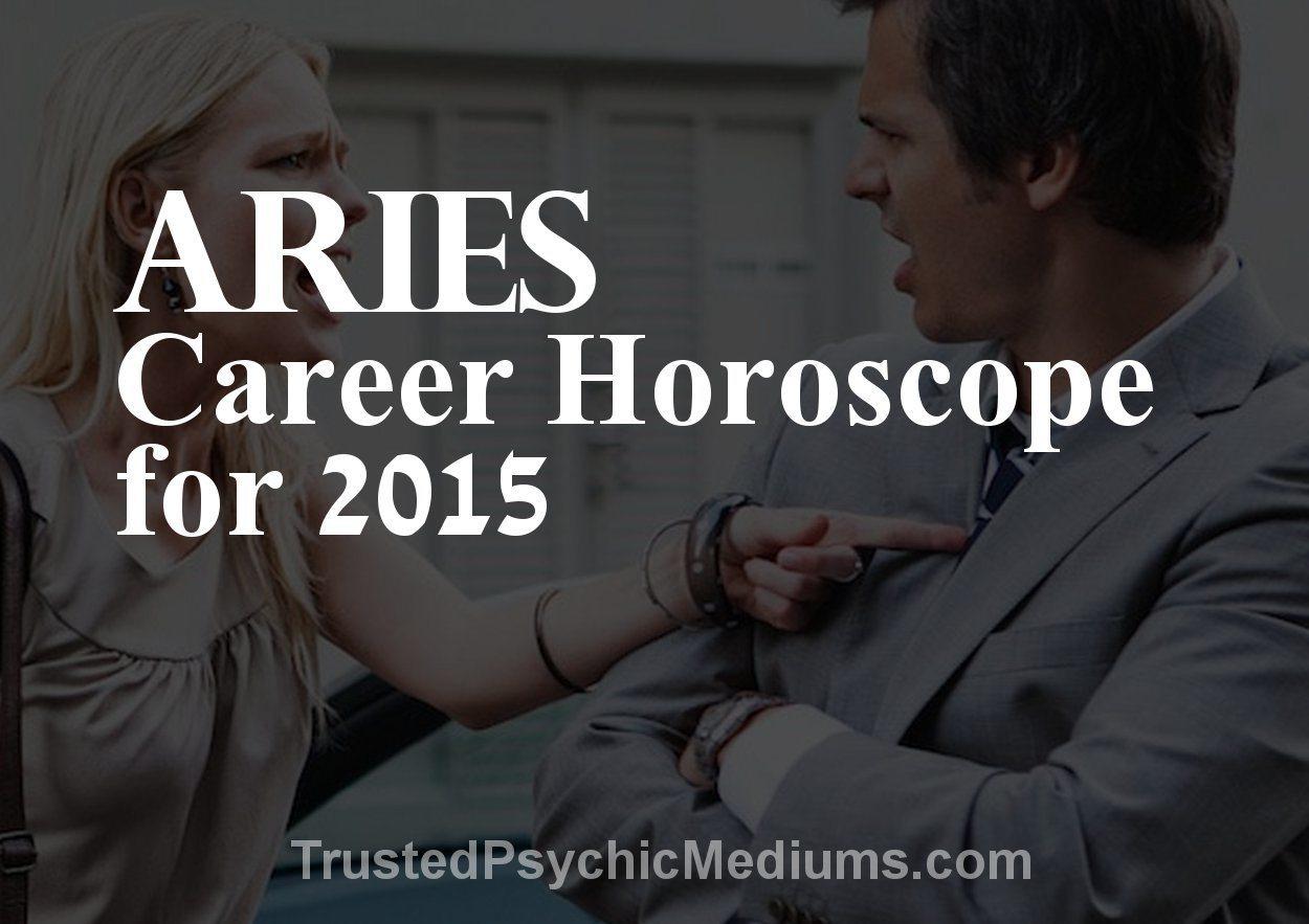 Aries Career Horoscope 2015