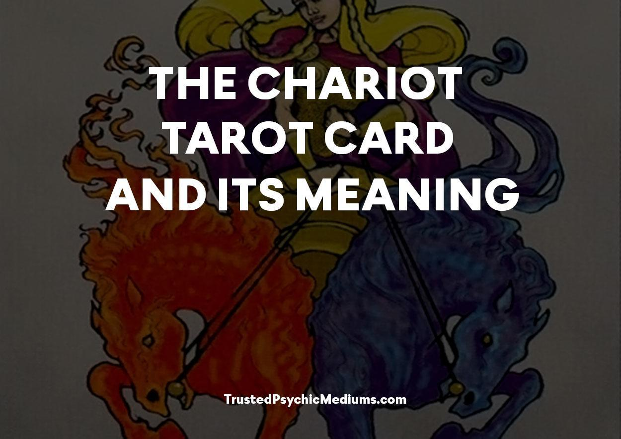 The Chariot Tarot Card and its Meaning
