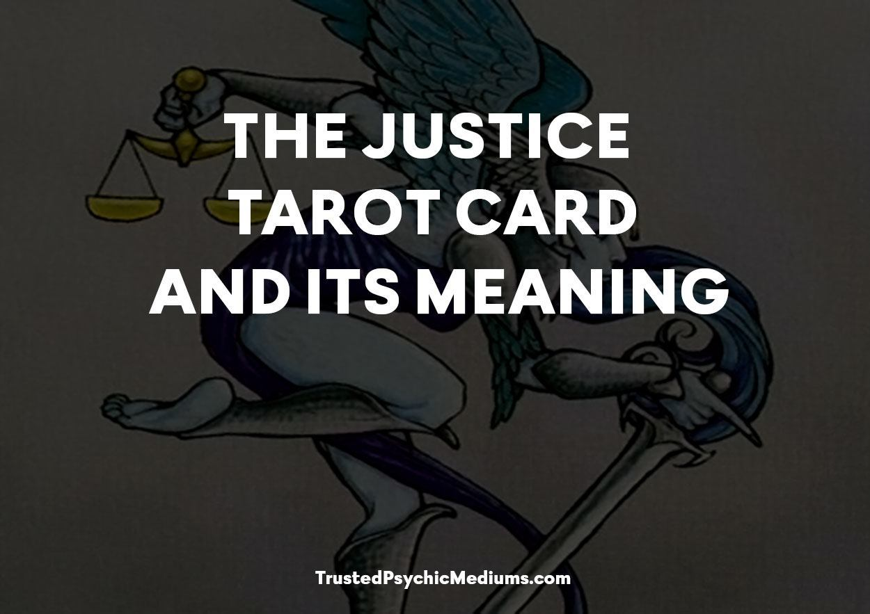 Justice Tarot Card and its Meaning