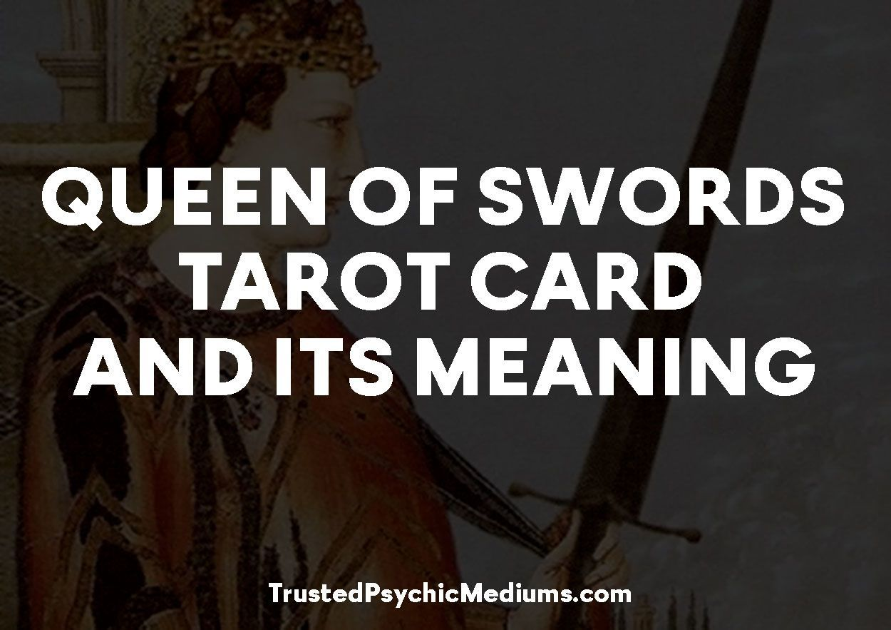 Queen of Swords Tarot Card and its Meaning