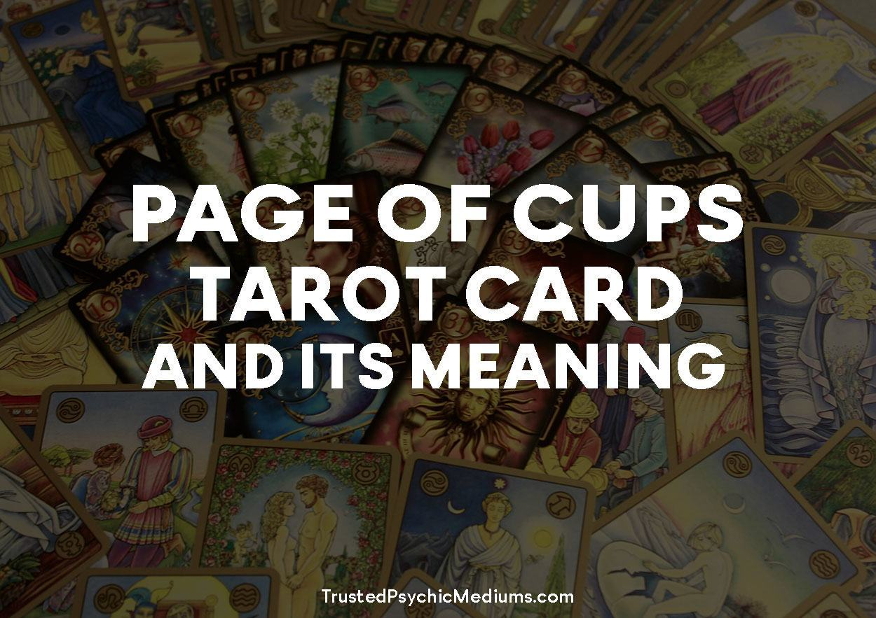 Page of Cups Tarot Card and its Meaning