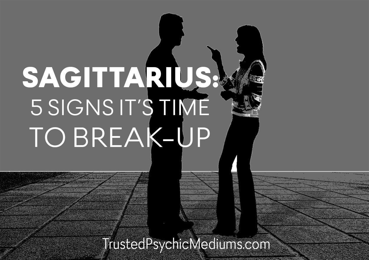 Sagittarius-Break-up