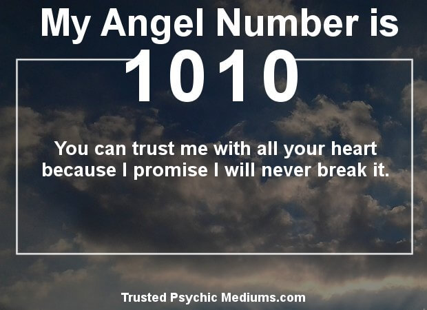 keep seeing angel number 1010