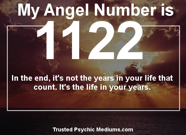 what does angel number 1122 mean for love?