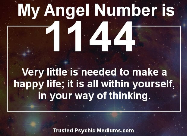the meaning of angel number 1144