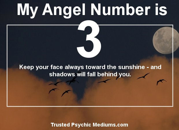 Angel Number 3 and its Meaning