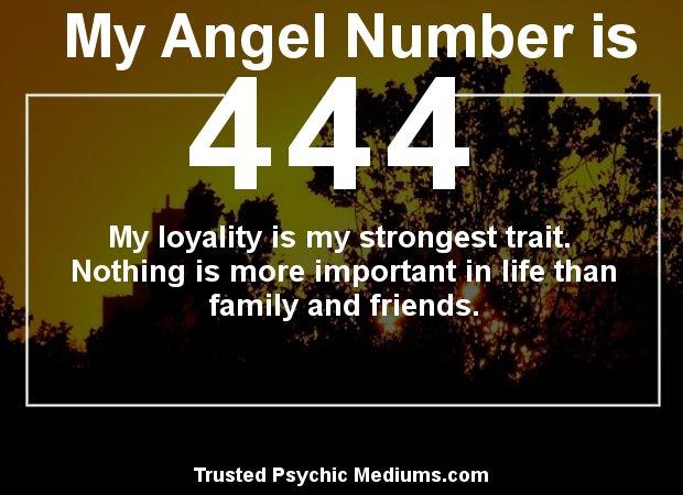 angel numbers 444