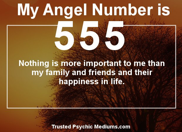 angel numbers 555