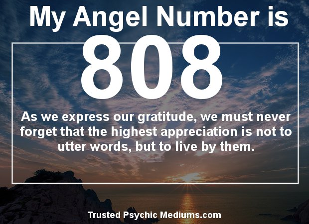 angel numbers 808