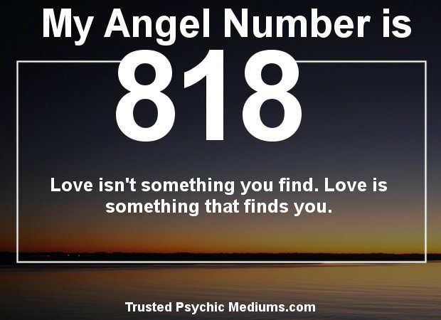 What does Angel Number 818 really mean? Find out now