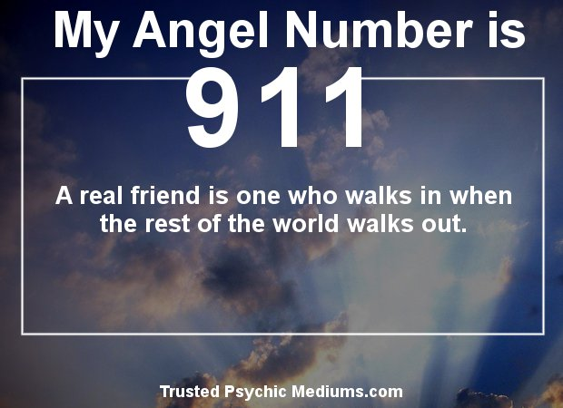 911 Angel Numbers