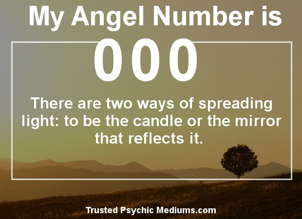 the meaning of angel number 000