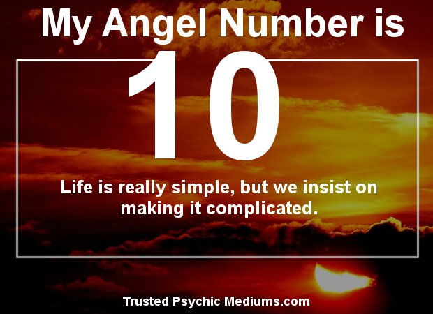 angel number 10 meaning