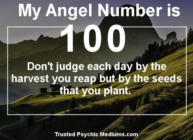 what is angel number 100 trying to tell me?