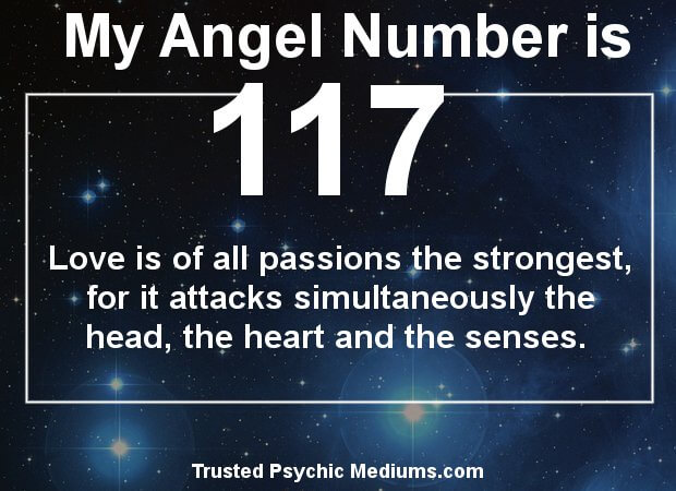 angel number 117