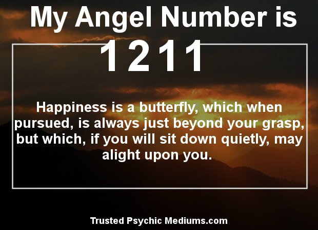 angel number 1211
