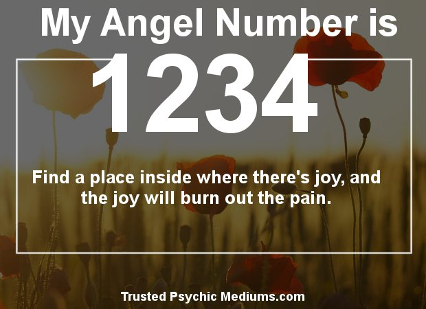 find out what angel numbers 1234 mean
