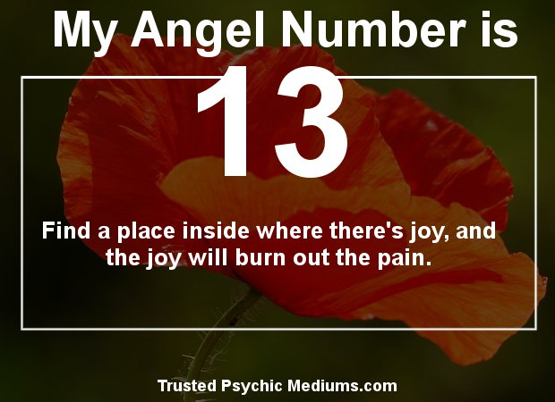 Angel Number 13 and its Meaning